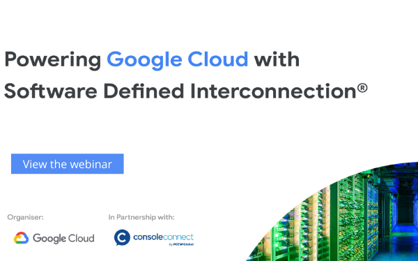 Powering Google Cloud with Software Defined Interconnection