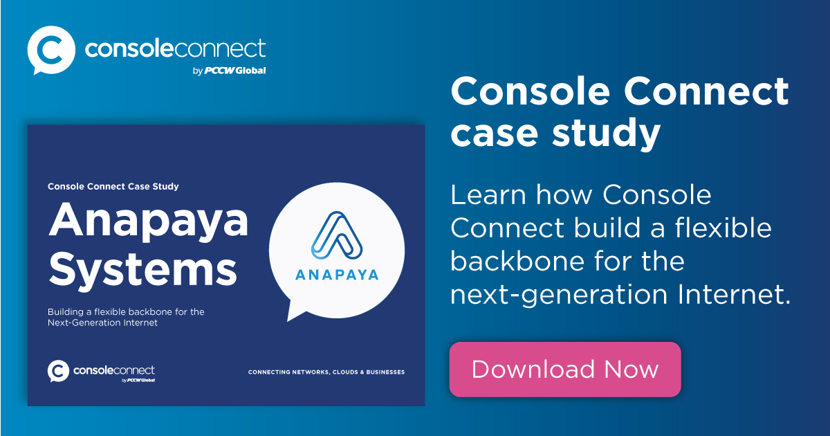 Console Connect Case Study - Anapaya Systems