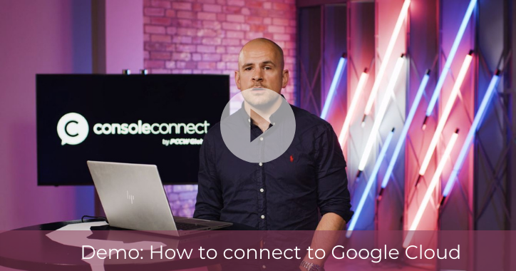 Demo: How to connect to Google Cloud