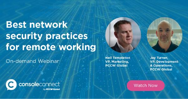 On Demand Webinar - Best Network Security Practices