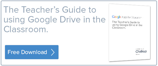 The Teacher's Guide to using Google Drive in the Classroom.