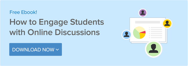 How to engage students with online discussions - Download now