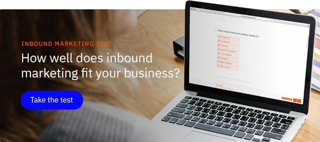 [TEST]: How well does inbound marketing fit your company?