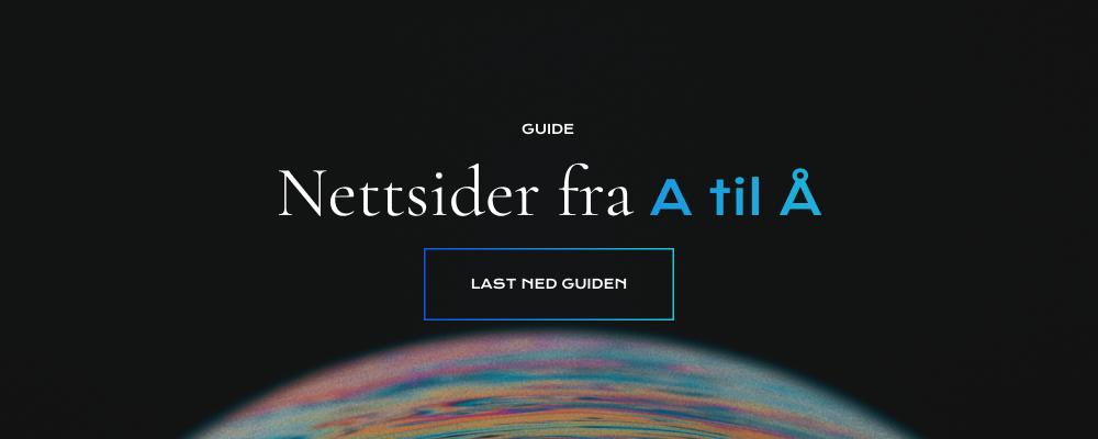 Nettsider fra A til Å