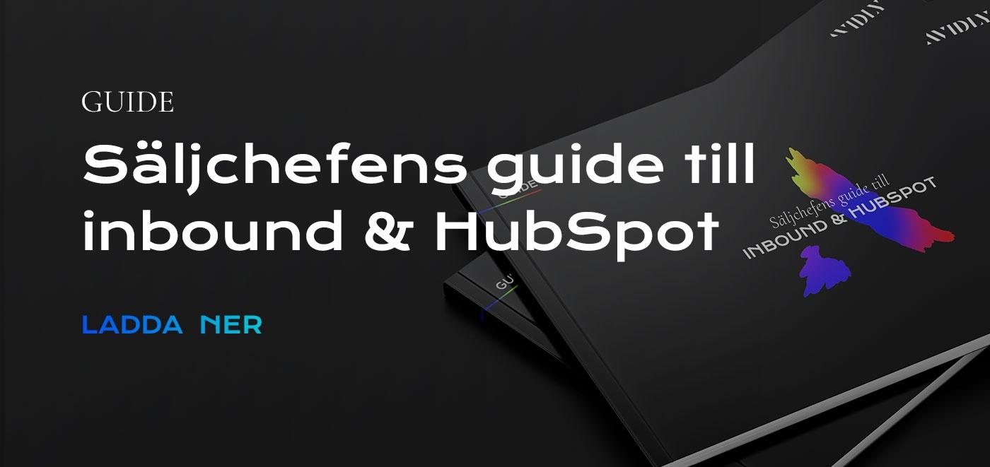 Säljchefens guide till inbound och hubspot