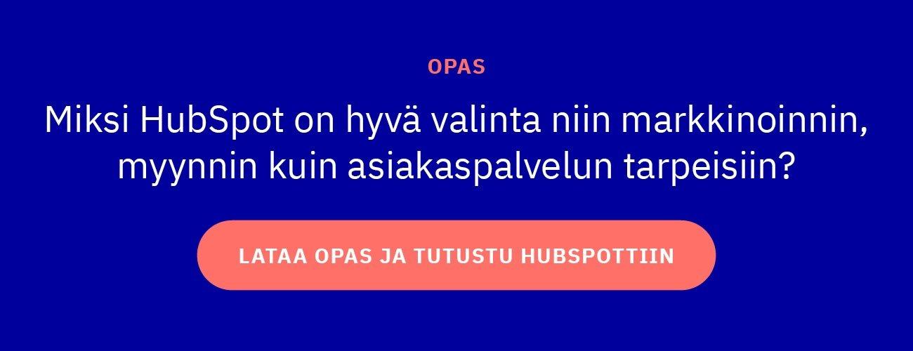 HubSpot opas