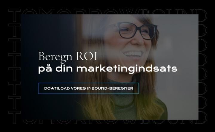 Beregn ROI på inbound - download beregneren