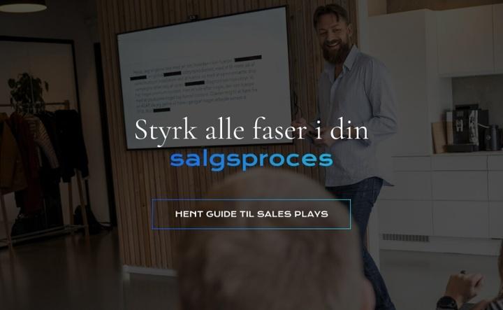 Styrk din salgsproces med et gennemført sales play - få din guide her