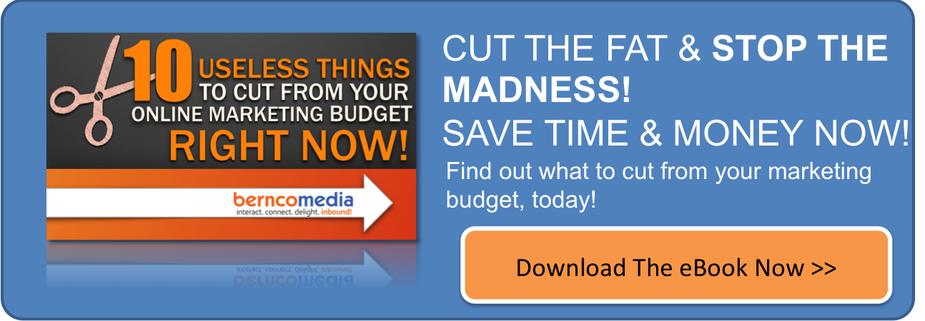 10 Useless Things To Cut From Online Marketing eBook