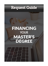 Request Master's Financial Aid Guide