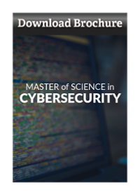 Download Master of Science in Cybersecurity Brochure