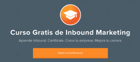 Certificación Inbound Marketing