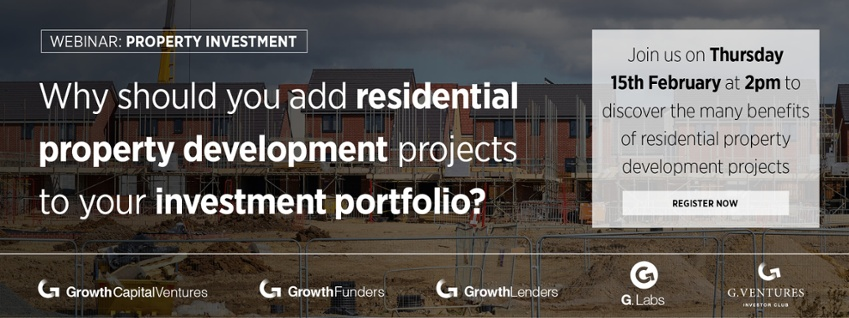 Join us for our webinar 'Why should you add residential property development projects to your investment portfolio?'