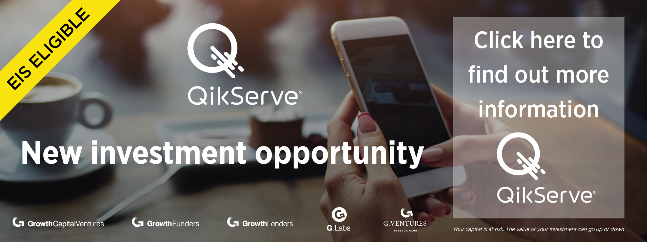 QikServe - new investment opportunity