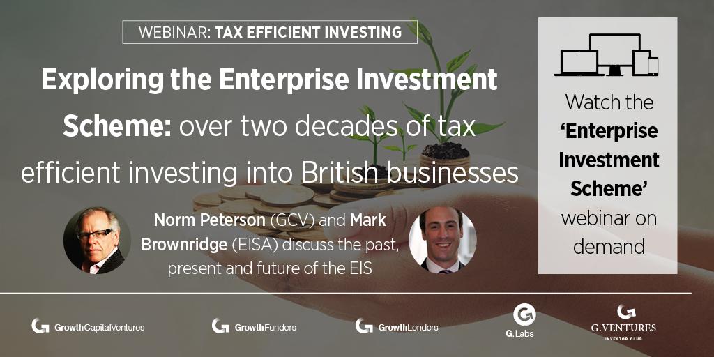 Exploring the Enterprise Investment Scheme webinar - watch on-demand