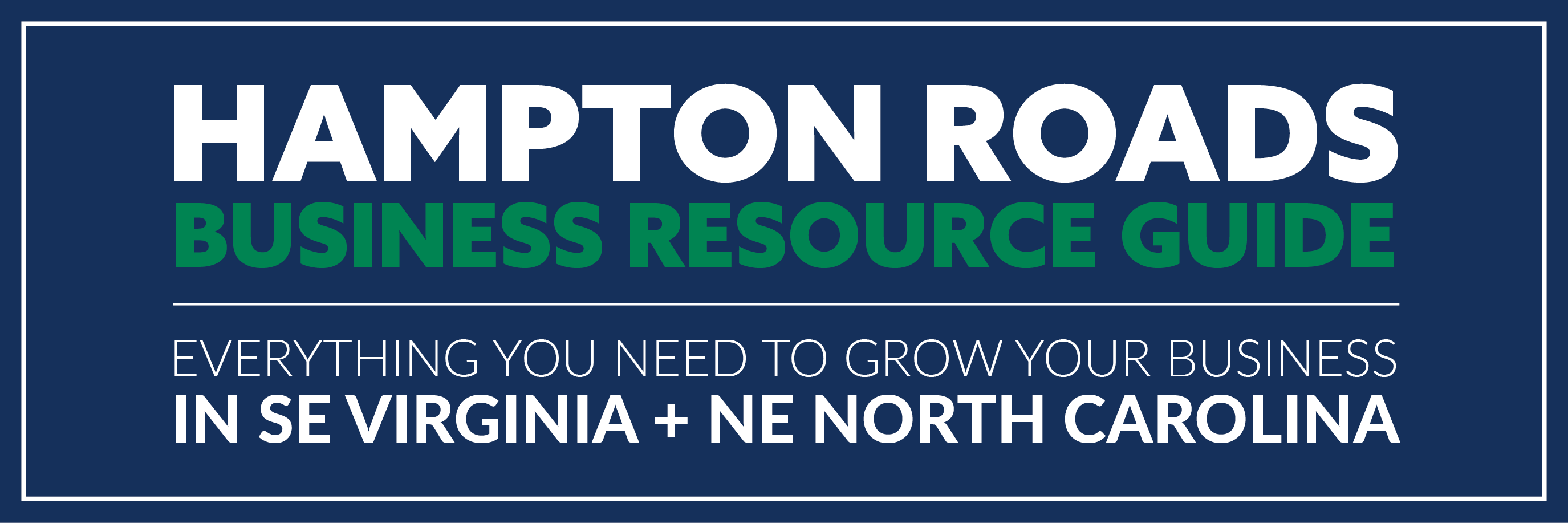 Hampton Roads Business Resource Guide