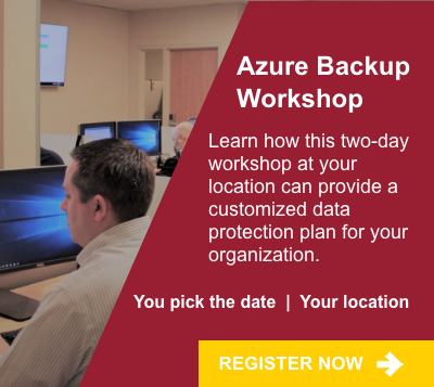 Azure Backup Workshop
