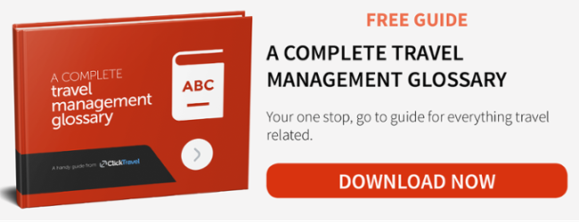Free guide - A complete travel management glossary