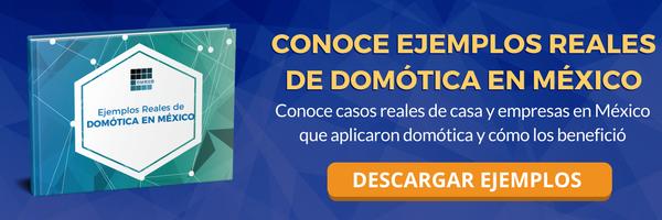Descarga gratis ejemplos reales de domotica en casas y empresas en México