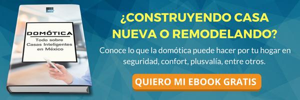 Descarga gratis ebook de domótica y casas inteligentes en méxico