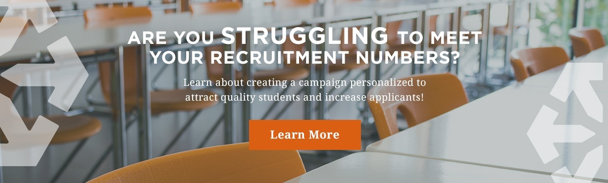 Increase higher education recruitment applicants