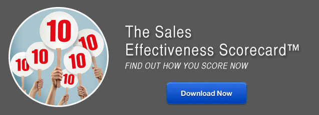 The Sales Effectiveness Scorecard