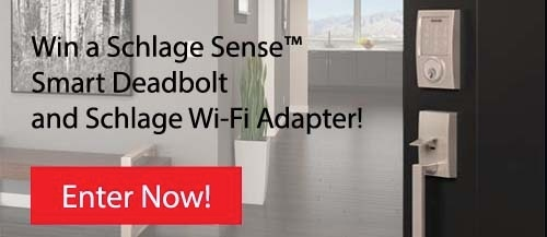 Schlage Senses Smart Deadbolt giveaway