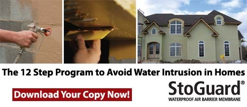 12 Step Program to Avoid Water Intrusion in Homes