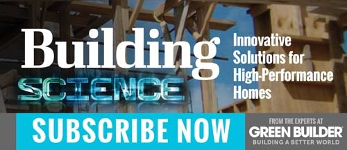 Building Science Blog Sign Up