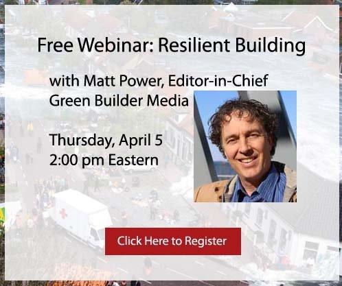 Free Webinar: Resilient Building