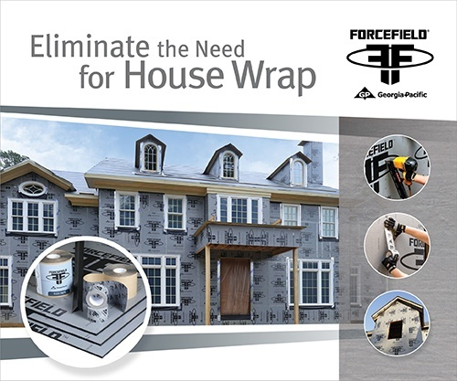 Eliminate the Need for House Wrap