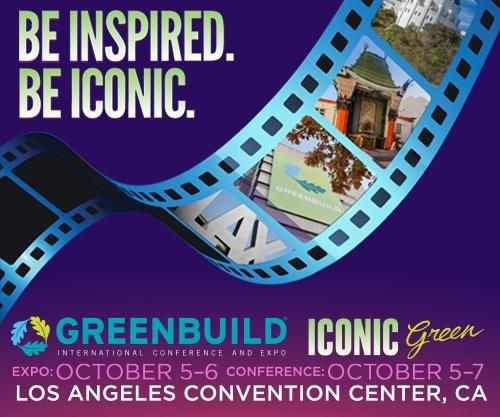 Greenbuild 2016 Be Inspired. Be Iconic.