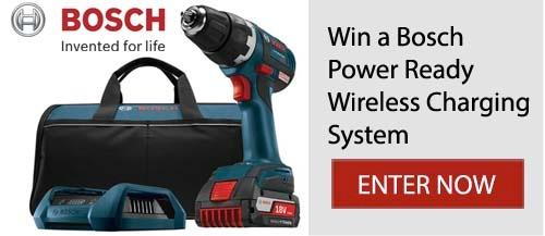 Bosch Power Tools Giveaway