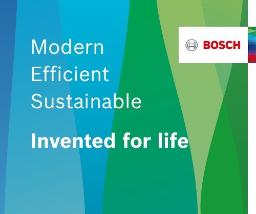 Bosch—Modern, Efficient,  Sustainable