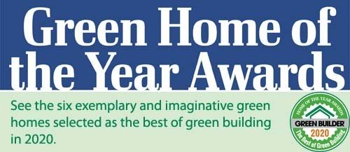 2020 Green Home of the Year Awards