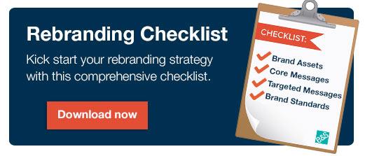 rebranding checklist