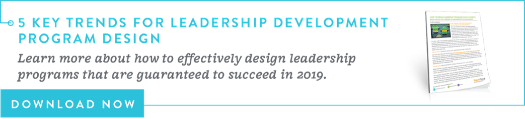 Download the top trends in leadership development program design!