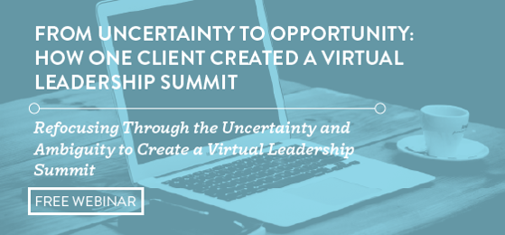 Creating a Virtual Leadership Summit Webinar