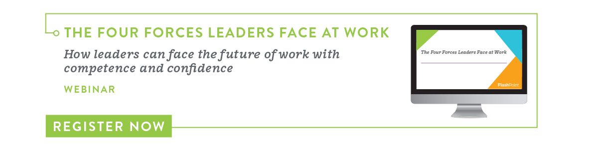 Register for the Four Forces Leaders Face at Work Webinar