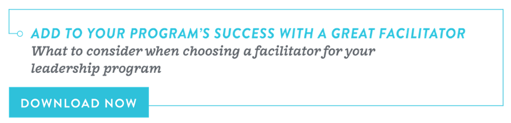 Add to your program's success with a great facilitator