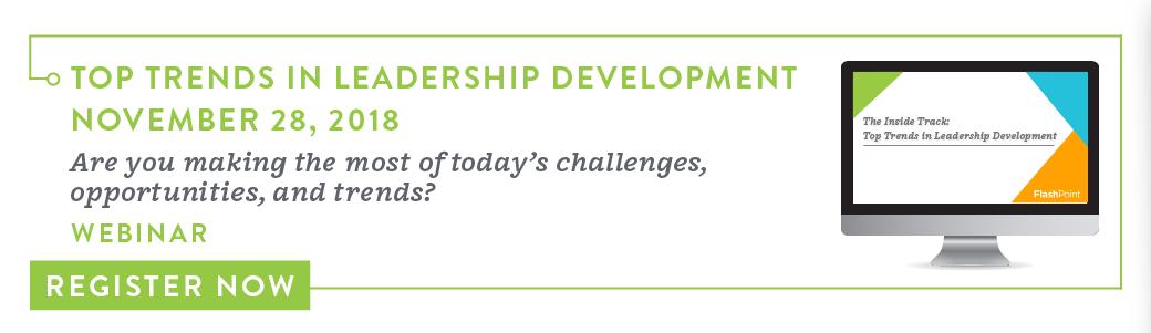Register for Top Trends in Leadership Development Webinar
