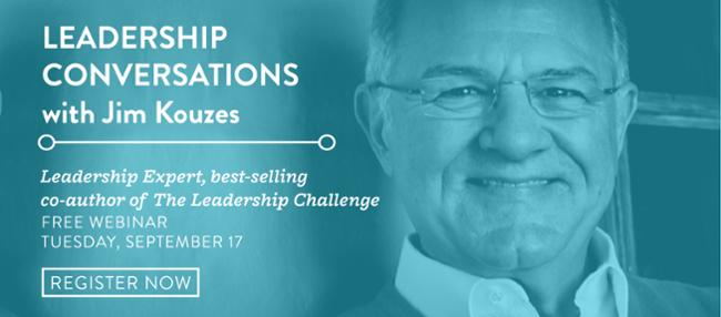 2019 Leadership Conversations Jim Kouzes webinar EMAIL