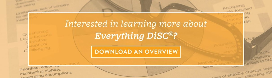 Download an Overview of Everything DiSC