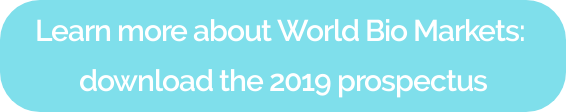 Learn more about World Bio Markets: download the 2019 prospectus