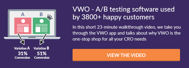 VWO Walkthrough