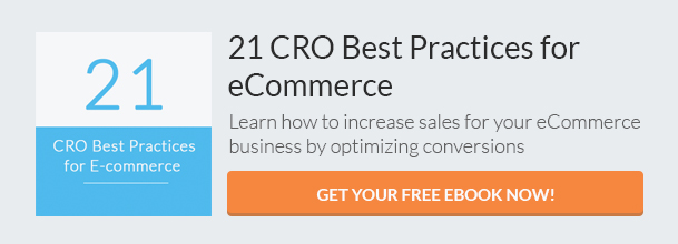 21 CRO Best Practices for eCommerce