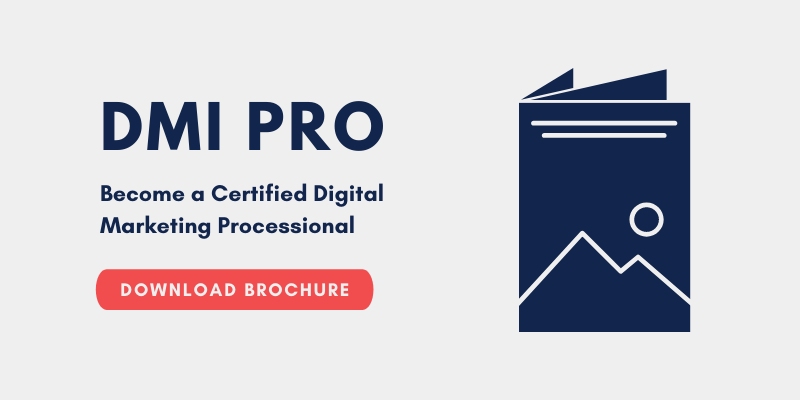 Download the DMI Pro Online Course Training Brochure | Xcellimark Training
