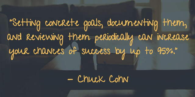 Setting Your Goals Leads to Success | Chuck Cohn