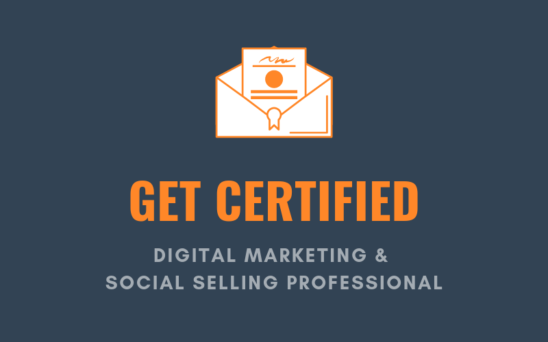 Get Certified as a Digital Marketing & Social Selling Professional | Xcellimark Training