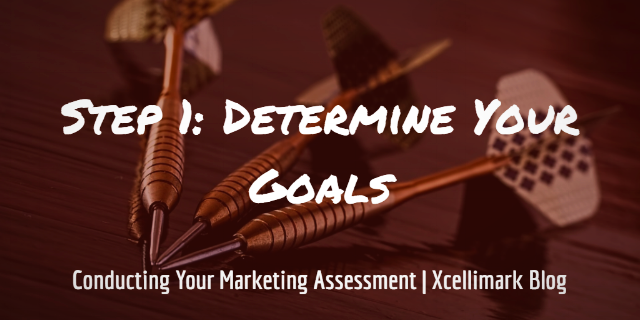 Step 1: Determine Your Goals | Conducting A Marketing Assessment
